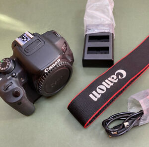 Canon EOS 700D 18.0MP Digital SLR Camera - Black (Body only)only 6230 Shots !
