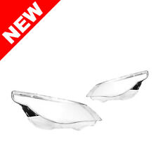04-07 BMW E60 5-Series Replacement Headlight Lens - White LED Brow