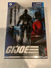"GI JOE Classified SNAKE EYES 2020 NEW  #02  NIB 6"" figure Wave 1 Unopened NEW"
