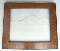 """c1900 Excellent Solid Quater Sawn Tiger Oak Mission Arts Crafts Frame 20"""" x 24"""""""