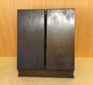 VINTAGE STATIONARY CABINET DESK TIDY BOX