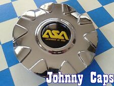 ASA by BBS WHEELS Chrome Center Caps # 8B340 Custom Wheel [42] Center Cap (1)