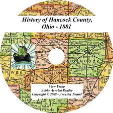 1881 History & Genealogy of HANCOCK County Ohio OH