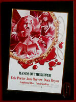 HAMMER HORROR - Series One - Gold Foil Card F4 - HANDS OF THE RIPPER