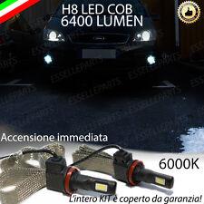 KIT FULL LED FORD FOCUS C MAX  LAMPADE H8 FENDINEBBIA CANBUS 6400 LUMEN 6000K
