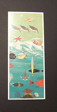 "Charles/Charley Harper Notecards ""Beachbirds"" 4 Pack w/Envelopes"
