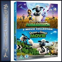 SHAUN THE SHEEP 2 MOVIE COLLECTION   ** BRAND NEW DVD ****