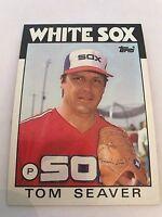 1986 Topps Tom Seaver Chicago White Sox #390