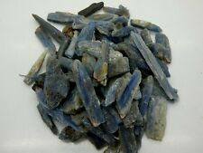 BLUE KYANITE Gemstone Rough Rocks - 5 Lb Lot - Tumbling - FREE SHIPPING