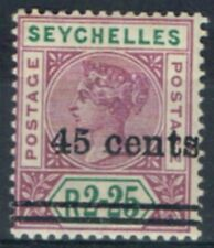 Lightly Hinged Single Seychellois Stamps (Pre-1976)