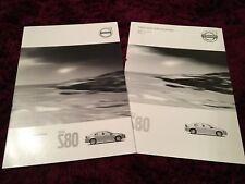 Volvo S80 Brochure 2015 Edition 2 + Price & Specs booklet
