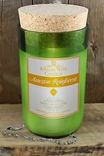 Amazon Rainforest Wine Bottle Candle Jewelry Wine Candles Wine Surprise Candle
