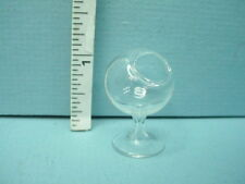 Miniature Clear Glass Terrarium on stand- #Hb136 Bright Delights 1/12th Scale