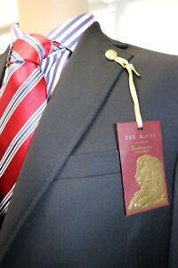 Ted Baker Endurance Jacket in Black.  Stylish Linings. RRP £240