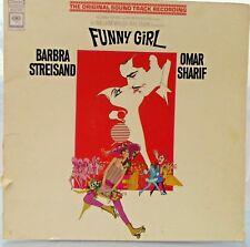 FUNNY GIRL original soundtrack recording vinyl record LP BOS 3220 Columbia