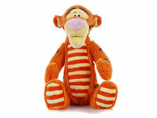 "NEW 12"" DISNEY FLUFFY STRIPES TIGGER PLUSH SOFT TOY WINNIE THE POOH"
