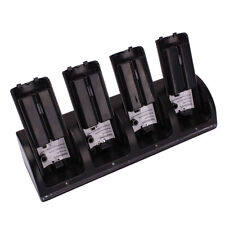 New Charger Dock Stand + 4 x 2800Mah Battery for WII Remote Black