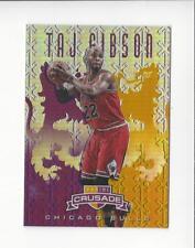 2012-13 Panini Crusade Insert Purple #293 Taj Gibson Bulls /49