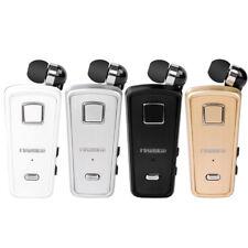 F-980 FineBlue Wireless Bluetooth Headset Earphone In-ear Earbud Clip Universal