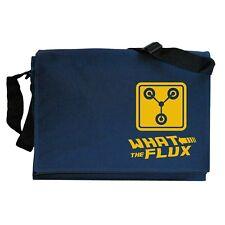 Flux Capacitor Back to the Future Tribute Navy Blue Messenger Shoulder Bag