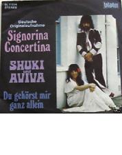"7"" 70s COVERVERSION! SHUKI & AVIVA Signorina Concertina"