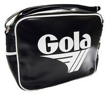 Gola Classic Retro Black/White Messenger Bag