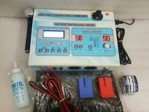 5 in1 Combination PHYSIOTHERAPY MACHINE IFT TENS US MS Electrotherapy Ultrasonic