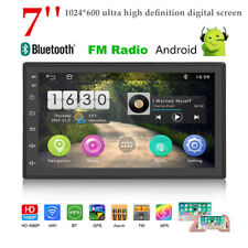 Car 7'' Android 9.0 GPS Navigation MP5 Player Bluetooth 4.0 WIFI Touch Screen