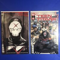 FUTURE STATE TEEN TITANS RUINS & ACADEMY #1 VARIANT SET 1ST Appearance RED X NM+