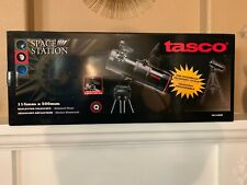 New Tasco Space Station Reflector Telescope System Altazimuth Mount 114x500mm