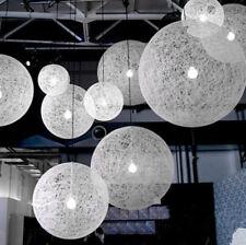 Hemp Round Ball Modern Pendant Lamp Random Ceiling Light Chandelier Fixture