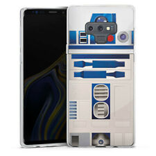 Samsung Galaxy Note 9 Silikon Hülle Case - R2D2 Closeup