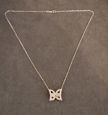 Pendentif Papillon Messika Or Blanc / Diamant