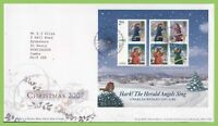 G.B. 2007 Christmas M/S on Royal Mail First Day Cover, Bethlehem