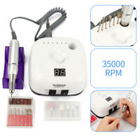 35000RPM Electric Nail File Drill Manicure Tool Pedicure Machine Set Kit