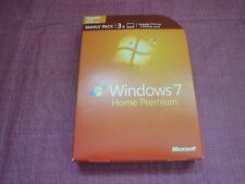 Microsoft  Windows 7 Home Premium Family Pack 32/64-Bit