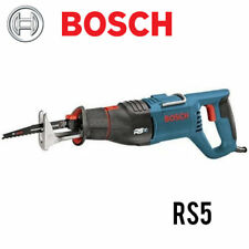 Bosch RS5 10 AMP Reciprocating Saw With Scroll Collar NEW w/Full Warranty
