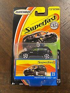 2005 Matchbox Superfast #23 Pontiac Vibe GT 1 of 10,000