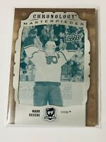 2018-19 THE CUP CYAN PRINTING PLATE 1/1 CHRONOLOGY MASTERPIECES MARK RECCHI FLYE