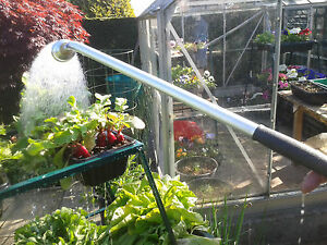 90cm Professional Aluminium Watering Lance With Soft Rain Rose For Hosepipe