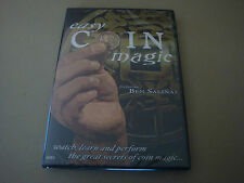 Easy Coin Magic Featuring Ben Salinas Dvd Magic Tricks Vanishes & Reappear Palms