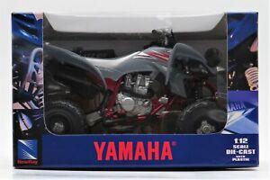 New-Ray 42837 Yamaha YFZ 450 ATV Gray - Model Toy - 1:12 Scale Die-Cast NIB