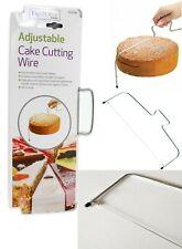 Cake Cutter Wire Slicer Leveller Decorating Utensil Baking Sponge Brownie Bread