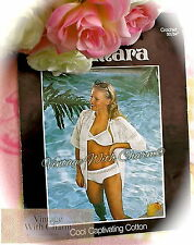 Vintage 1970s Crochet Pattern Lady's 'Sun Dazzler' Bikini & Cover Up. Just £2.69