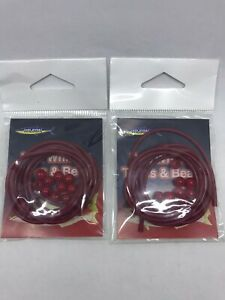 2xWilson Red Whiting Tube and Beads