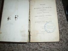 Travels in North America Charles Lyell volume 1 first edition 1845
