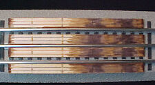 Railroad Crossing for Lionel O 3-rail Straight section Fastrack