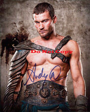 Andy Whitfield (Spartacus) Autographed 8 X 10 Photo RP