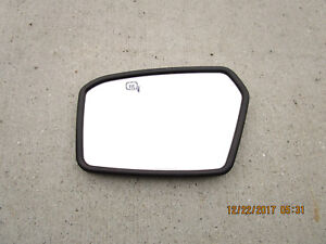 06 LINCOLN ZEPHYR DRIVER SIDE HEATED PUDDLE LIGHT BLIND SPOT DOOR MIRROR GLASS