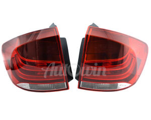 BMW X1 Series E84 Rear Taillight In Panel With LED Left & Right Side OEM NEW